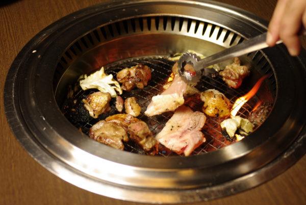 大和肉鶏とヤマトポークの焼き肉セット